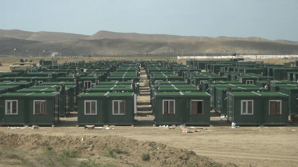 مشروع معسكر الحاويات
