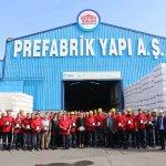 لقد حصل عمال شركة بري فابريك يابى المساهمة (Prefabrik Yapı) على جوائزهم